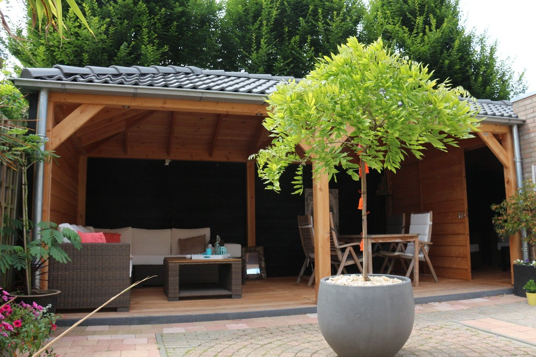 Onwijs Veranda / prieel / tuinhuis - Marbel Houtbouw & Houthandel SK-95